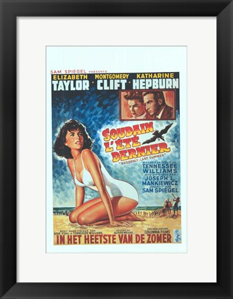 Framed Suddenly Last Summer Print