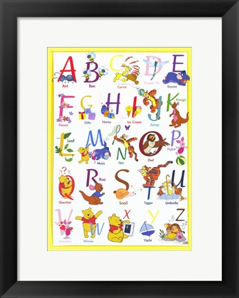 Framed Winnie The Pooh - Gallery Collection Print
