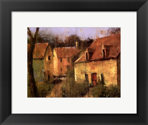 Framed French Farmhouse I Print