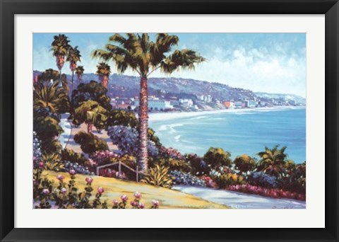 Framed Laguna Beach, California Print