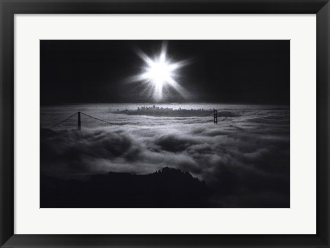 Framed San Francisco Sunrise Print