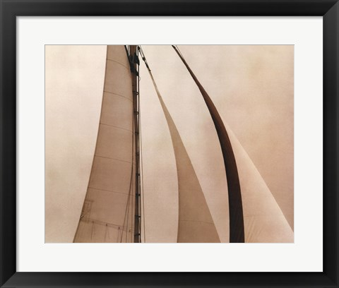 Framed Sail Away II Print