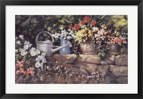 Framed Garden Wall Print