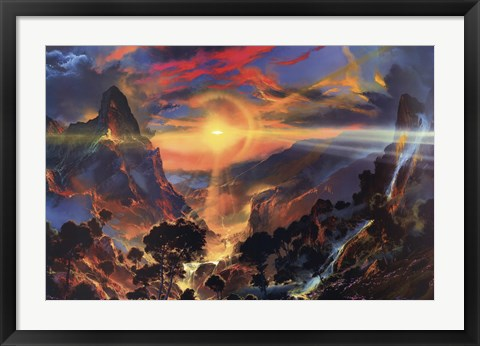 Framed In the Land Where Magic Began Print