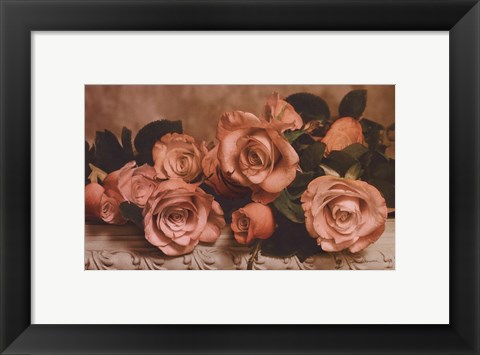 Framed Dusty Rose Print