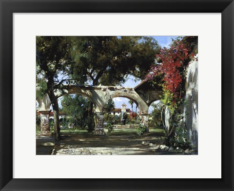 Framed Mission Arches Print