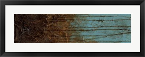 Framed Oxidized Copper II Print