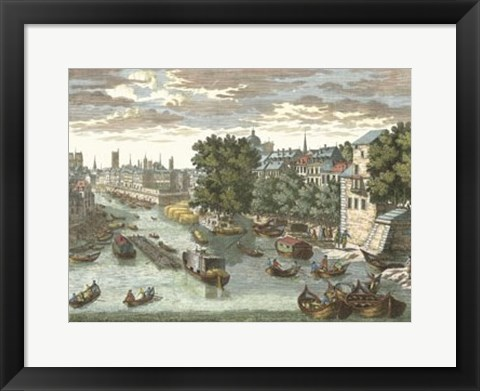 Framed View of France VIII Print