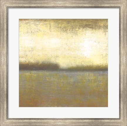 Framed Citron Lake II Print