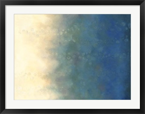 Framed Sea & Sky II Print
