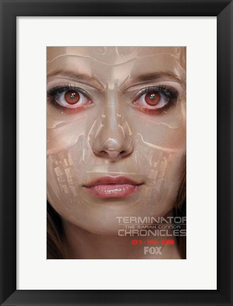 Framed Terminator: The Sarah Connor Chronicles - style AT Print