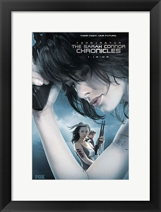 Framed Terminator: The Sarah Connor Chronicles - style AX Print