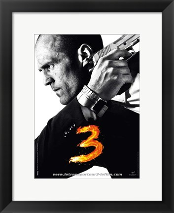 Framed Transporter 3 - French - style A Print