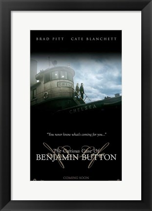 Framed Curious Case of Benjamin Button, c.2008 - style G Print