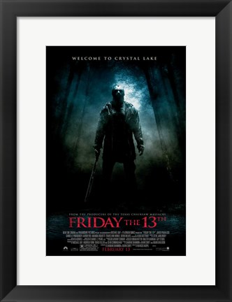 Framed Friday the 13th, c.2009 - style C Print