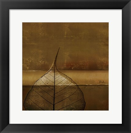 Framed Less is More II Print