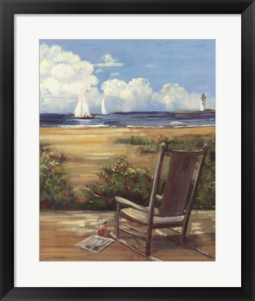 Framed By the Sea II Print