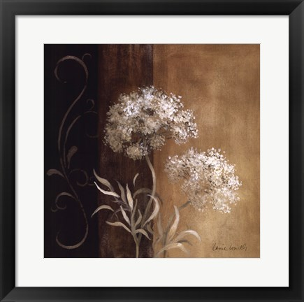 Framed Delicate Beauty I Print