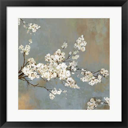 Framed Ode to Spring II Print