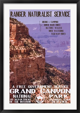 Framed Gand Canyon Print