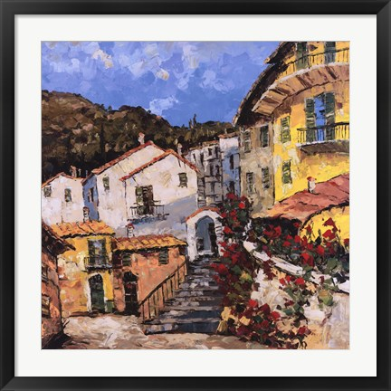 Framed Port To Lucca II Print