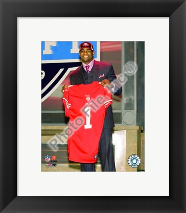 Framed Michael Crabtree 2009 Draft Day Print