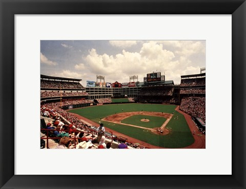Framed Arlington, Texas Print