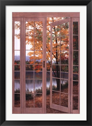 Framed Autumn Threshold Print