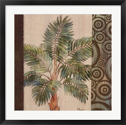 Framed Parlor Palm II Print