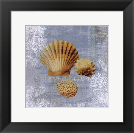 Framed Tidal Treasures Print