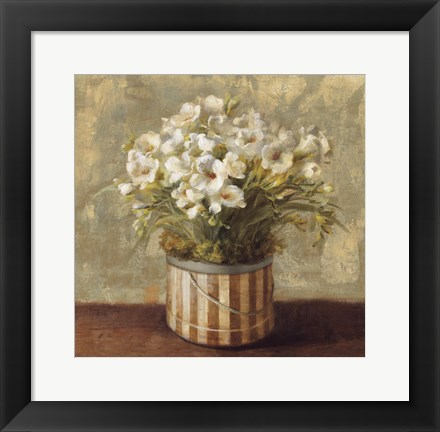 Framed Hatbox Freesia Print