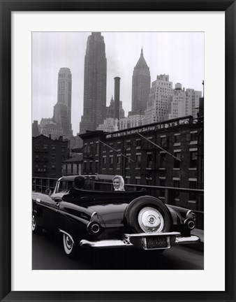 Framed Marilyn in New York Print