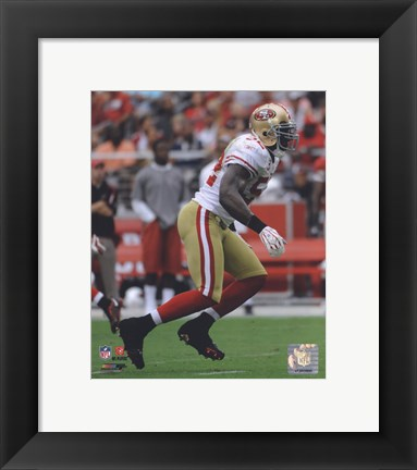 Framed Patrick Willis 2009 Action Print
