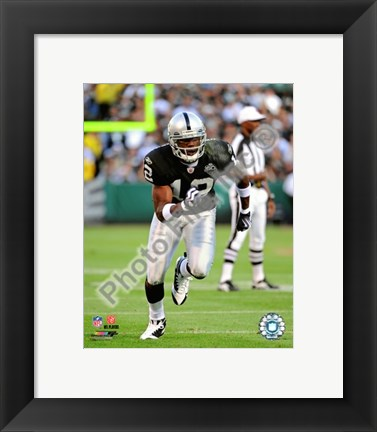 Framed Darrius Heyward-Bey 2009 Action On The Field Print