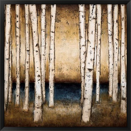 Framed Birch Landing Print