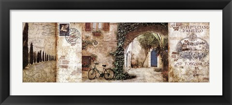Framed Streets & Cities Print