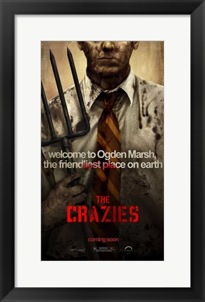 Framed Crazies - style D Print