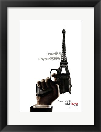 Framed From Paris with Love - style A Print