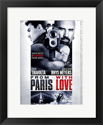 Framed From Paris with Love - style E Print