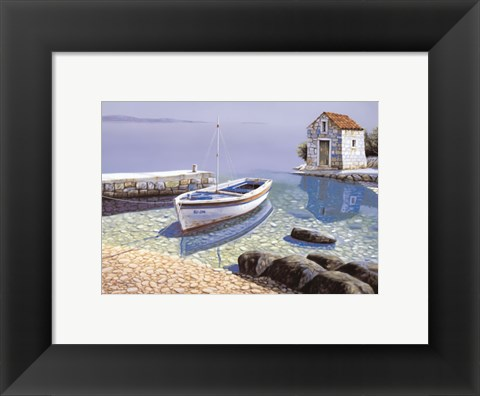 Framed Morning Reflections Print
