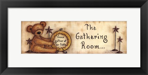 Framed Gathering Room Print