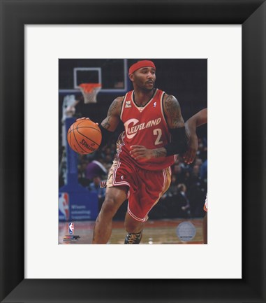 Framed Mo Williams 2009-10 Action Print