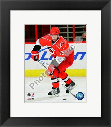 Framed Tuomo Ruutu 2009-10 Action Print