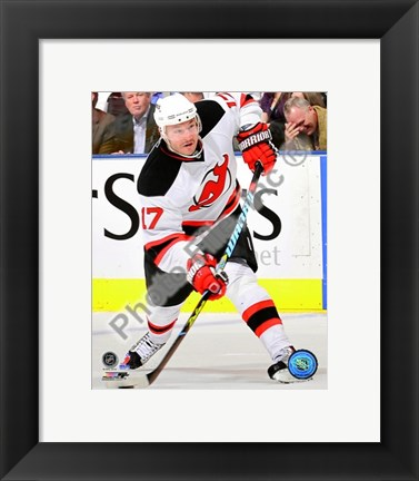 Framed Ilya Kovalchuk 2009-10 Action Print