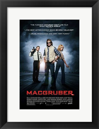 Framed MacGruber - style A Print