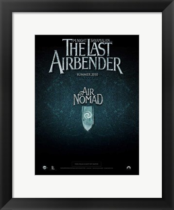 Framed Last Airbender - style D Print