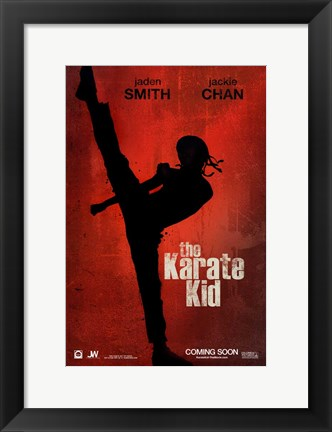 Framed Karate Kid, c.2010 - style A Print