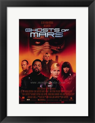 Framed John Carpenter's Ghosts of Mars - style B Print