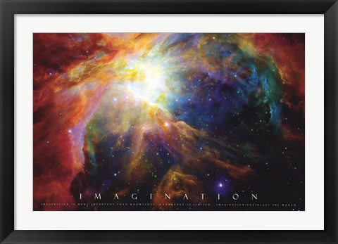 Framed Imagination - Nebula Print