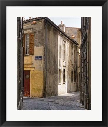 Framed Stone Walkways II Print